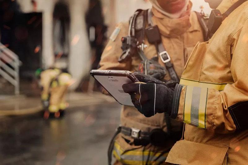 助力美国海厄利亚市消防局紧急救援